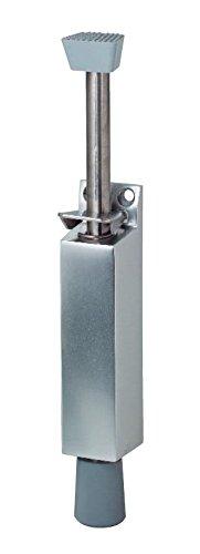 Türfeststeller KWS 1046.02 silber für Türen bis 80 kg, 120 mm Hub, innen & außen