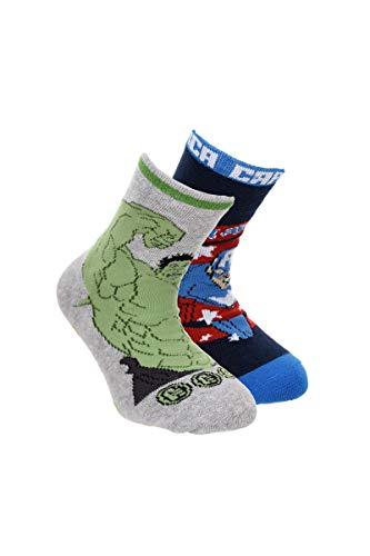 Suncity Pack 2 calcetines Los Vengadores Avengers Hulk y
