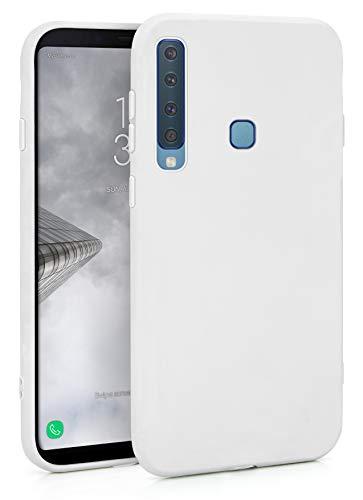 MyGadget Silikon Hülle für Samsung Galaxy A9 2018 - robuste Schutzhülle TPU Hülle Slim Silikonhülle Back Cover Ultra Kratzfest Handyhülle in Weiß