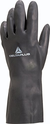 Delta Plus Toutravo 509 Neoprene Chemical And Abrasion Resistant Work Safety Gloves - Size 9.5 (Large) by Venitex
