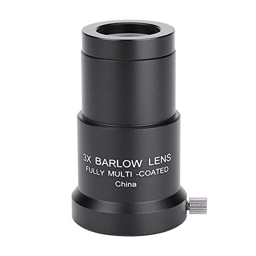 EBTOOLS Astronomy Telescope Okular 3X 1,25 '' Barlowlinse für Okular vollbeschichtet