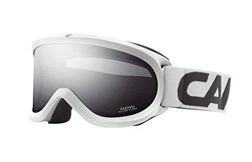 Carrera Skibrille Skermo OTG, Weiß-Stripes
