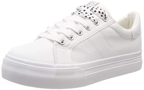 Tamaris Damen 1-1-23602-22 100 Sneaker Weiß (White 100), 40 EU