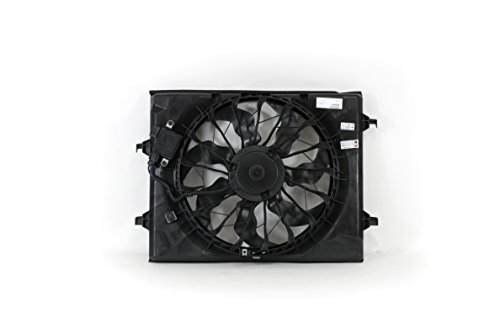 Engine Cooling Fan Assembly - Cooling Direct For/Fit KI3115148 16-18 Kia Optima 2.4L WITH Power Module