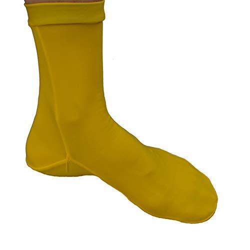 EFINNY Calcetines de buceo Zapatillas de agua antirresbaladizas Cálidos botines de playa Zapatillas de nylon para buceo Deportes acuáticos Calentamiento antirayaduras Calcetines de snorkel