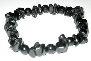 CRYSTALMIRACLE Powerful Black Tourmaline & Obsidian Bracelet Fashion Jewelry Wellness Crystal Healing Men Women Gift Protective Luck Deflector Peace of Mind Luck Fear