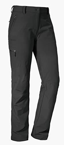 Schöffel Pants Ascona, leichte und komfortable Damen Hose für Wanderungen, vielseitige Outdoor Hose mit optimaler Passform und praktischen Taschen Damen, asphalt, 42
