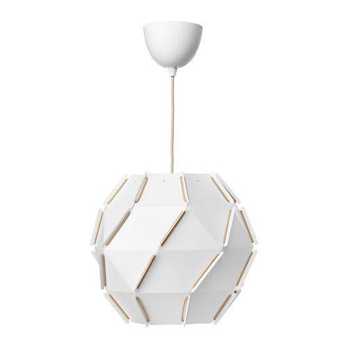 IKEA SJÖPENNA Hängeleuchte rund; (35cm); A++