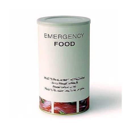Emergency Food MHD >10 Jahre Nudeln in Soja-Bolognese vegetarisch, Notvorrat beim Campen, Trekking, etc. Stärkend und nährend. All Natural Krisenvorsorge