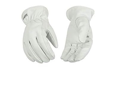 Kinco Unlined Grain Goatskin Driver Glove