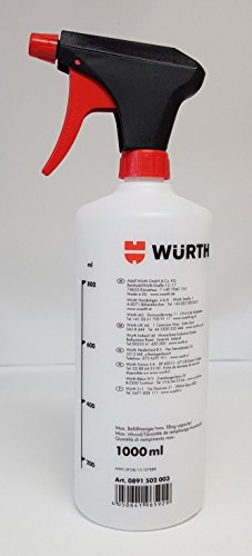 Würth 0891502003 - Botella pulverizadora (1000 ml)