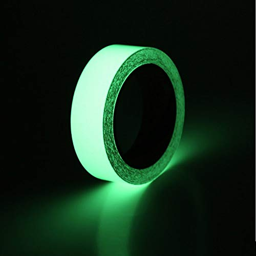 UEETEK Non Skid Safety Tape Green Fluorescent Anti Slip Safety Tape 2 inches by 16.4ft Indoor or Outdoor Applicable