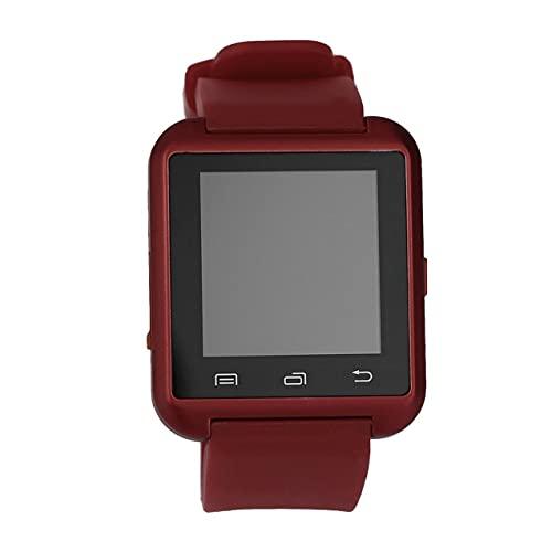 YLXAJKJGS-XCH Negro Blanco Rojo Acero + Silicona Deportes Reloj de Pulsera Inteligente Phone Mate U8 V3.0 + EDR para iPhone Sistema iOS
