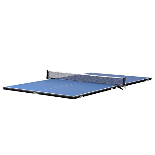 JOOLA Regulation Table Tennis Conversion Top with Foam Backing and Net Set...