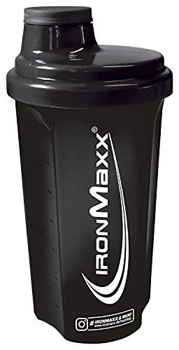 IronMaxx - Shaker per proteine con chiusura a vite, filtro e scala di misurazione, 700 ml, per fitness shaker senza grumi, facile da pulire