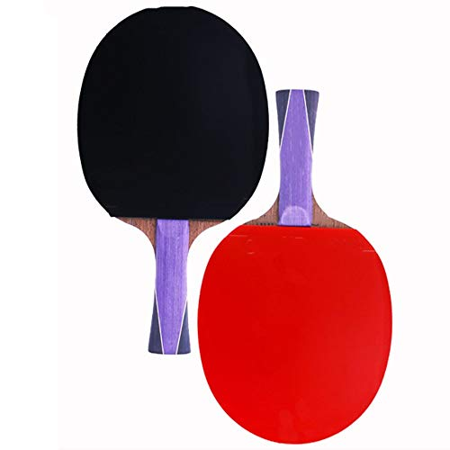 Best Price CVEUE Ping Pong Paddle Table Tennis Racket 4 Star Finished Racket Horizontal Shot Single ...