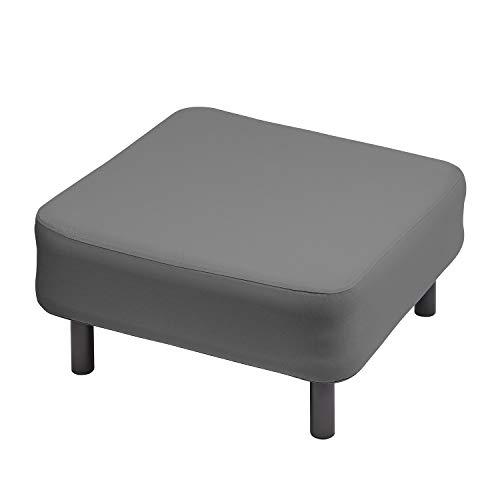 OneBar Element 3 Hocker Aufblasmöbel, Just add air, Mobile Lounge, Luft, Sofa, Couch, Sessel, Outdoor, Garten, Luftpolster, Onebar Farbe:Dark Grey