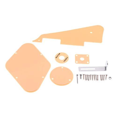 Golpeador de plástico+cubierta de la cavidad+cubierta del interruptor+placa selectora+soporte conjunto para LP...