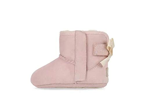 UGG unisex baby Jesse Bow Ii and Beanie Boot, Pink, 1 Infant US