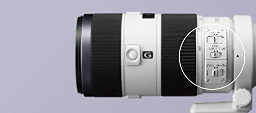 Sony SAL70200G2, Tele-Zoom-G-Objektiv (70-200 mm, F2,8 G SSM II, A-Mount Vollformat, geeignet für A99 Serie) schwarz/weiß