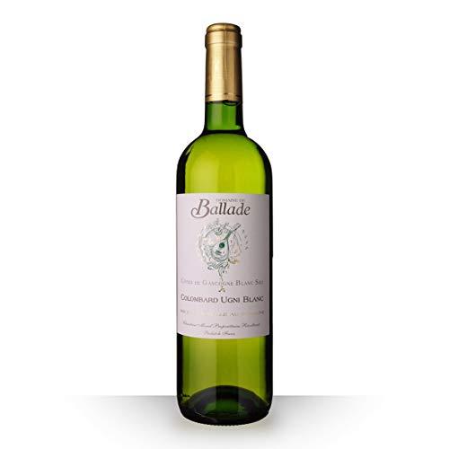 Domaine de Ballade Colombard 2017 Blanc 75cl IGP Côtes de Gascogne