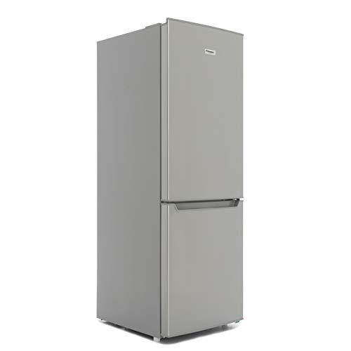 Fridgemaster MC50165S Freestanding Fridge Freezer -Silver