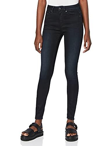 G-STAR RAW Damen Jeans 3301 High Waist Skinny, Blau (Dk Aged 5245-89), 29W / 30L