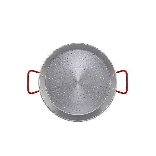 Metaltex - Paellera Acero Pulido 6 Raciones 34 cm