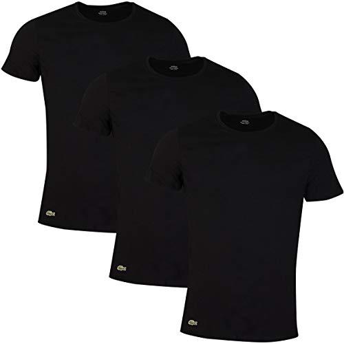 Lacoste Essentials Basic Crew Shirt Hommes (3-Pack)