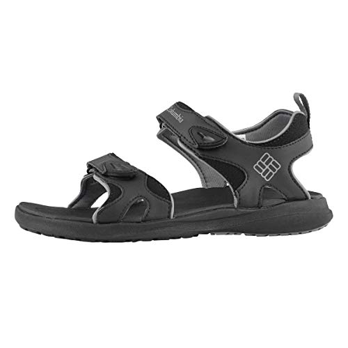 Columbia Men's 2 Strap All Terrain Sandal Sport, Black, 10 Regular US