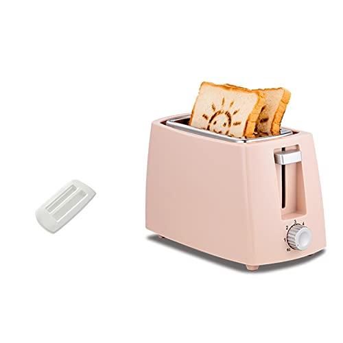 tostadora Tostadora de pan eléctrico for el hogar Mini Máquina de hornear multifuncional (Color : Pink sun pattern)