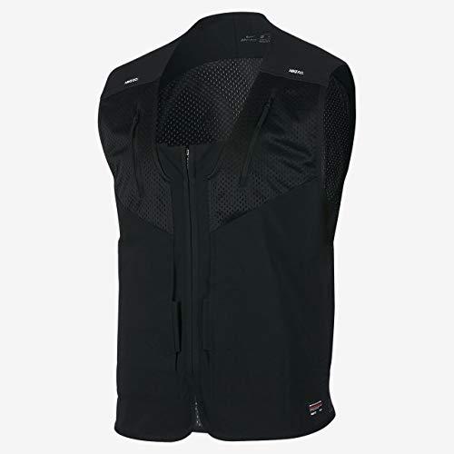 Nike M NK FC Vest–Gilet, Uomo, Nero (Black/White)