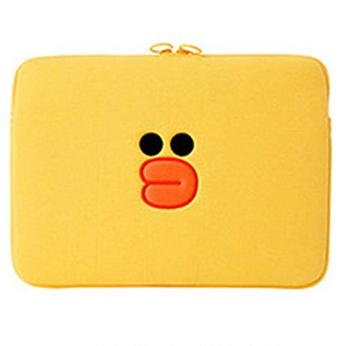 Cute Animal Bags 11.6 13.3 15.4 inch Laptop Bag Notebook Sleeve Case for Laptop 11 12 13 14 15 15.6 inch Laptop Sleeve Bag-Yellow_12-inch