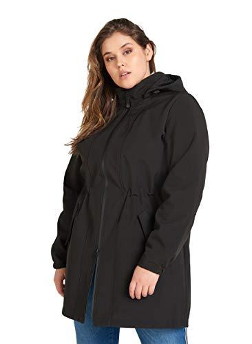Zizzi Damen Große Größen Softshell Jacke Fleece Wasserdicht Mantel Gr 42-56