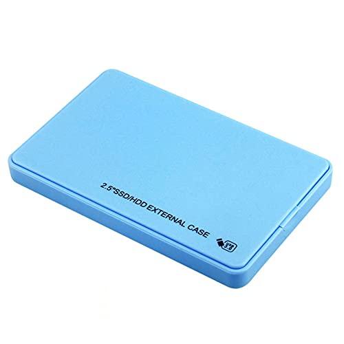 KOIJWWF Disco Duro móvil, USB 3.0 500 GB / 1TB / 2TB Expansión portátil de Gran Capacidad de Gran Capacidad,Azul,2TB