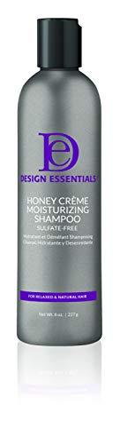 Design Essentials Honey Creme Moisture Retention Super Detangling Conditioning Shampoo - 8 Fl Oz