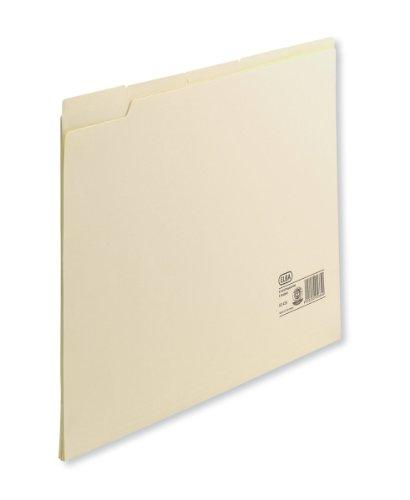 ELBA Einstellmappe A4, aus 180 g/m² Karton (recycling), überstehende Taben zur Beschriftung, chamois, 100 Stück
