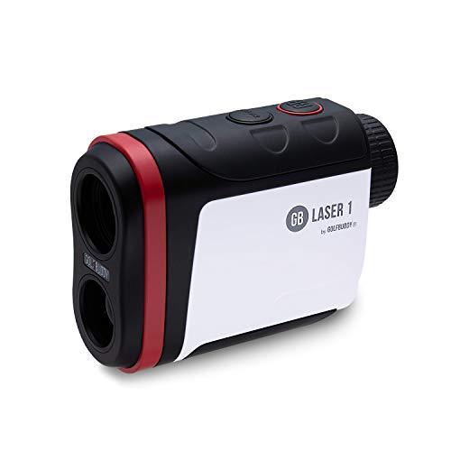 GolfBuddy Laser 1 Télémètre de Golf Mixte, Blanc, Taille Unique