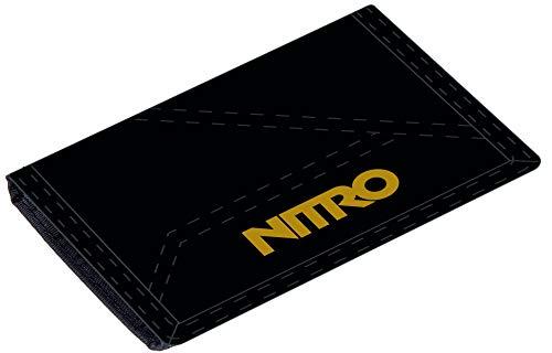 Nitro Wallet, Geldbörse, Geldbeutel, Portemonnaie, Münzbörse, Golden Black, 10 x 14 x 1 cm, 1131-878000, 60g