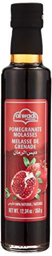 Al Wadi - 100 % Naturreiner Granatapfelsirupaus dem Libanon - Granatapfel Sirup zum Verfeinern und Veredeln von Soßen und Dips - Grenadine in 350 g Flasche