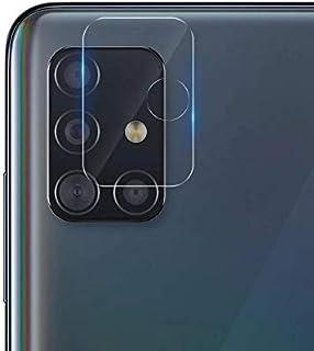 شاشة حماية زجاجية لعدسة كاميرا هاتف سامسونج جالاكسي A51 / A31 - شفافة