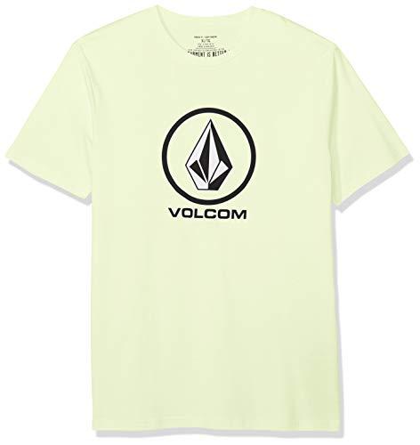 Volcom Crisp Stone BSC SS Camiseta, Hombre, Key Lime, Extra-Small