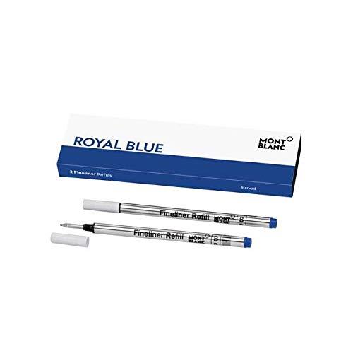 REFILL FL B 2x1 ROYAL BLUE PF marca Montblanc