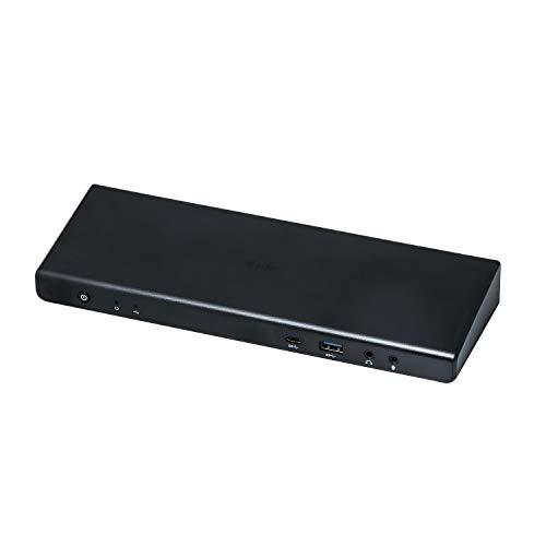 i-tec USB-C/USB 3.0 2x4K Universal Dockingstation PD 60 W 2x DP 4K 60 Hz, 2x HDMI 4K 60 Hz, 1x LAN, 4x USB 3.0, 2x USB-C 3.1, 1x Audio/Mikrofon, Thunderbolt 3 kompatibel