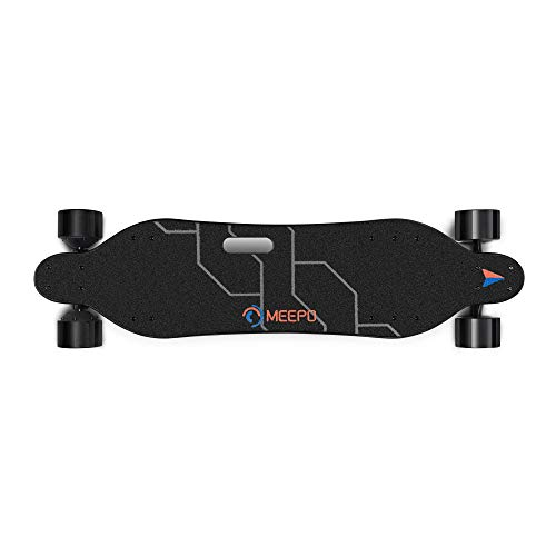 Meepo V3 Electric Skateboard with Remote, Top Speed 28 mph, 2 X 540 Watts 6 Months Warranty Cruiser for Adults Teens