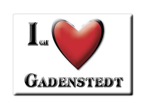 Enjoymagnets GADENSTEDT (NI) Souvenir Deutschland Niedersachsen Fridge Magnet KÜHLSCHRANK Magnet ICH Liebe I Love
