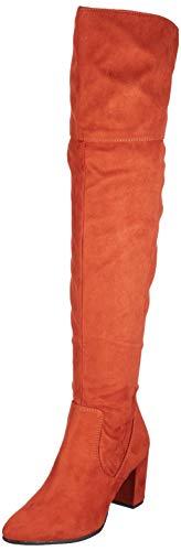 MARCO TOZZI Damen 2-2-25519-33 Overknees, Rot (Brick 512), 41 EU