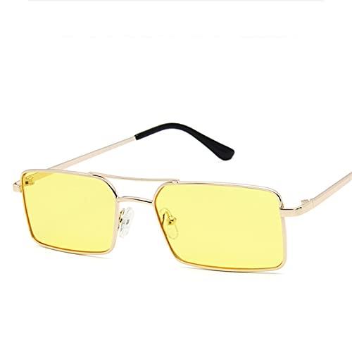 YMOMY Gafas De Sol De Metal De La Señora Steampunk Moda Vintage Colores De Caramelo Gafas De Sol para La Escalada De Equitación Racing Surfing Etc. (Lenses Color : C5)