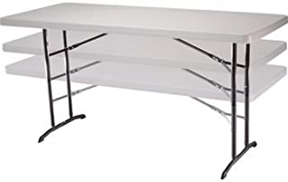 Lifetime® 6' Adjustable Height Utility Table Can Adjust to 22