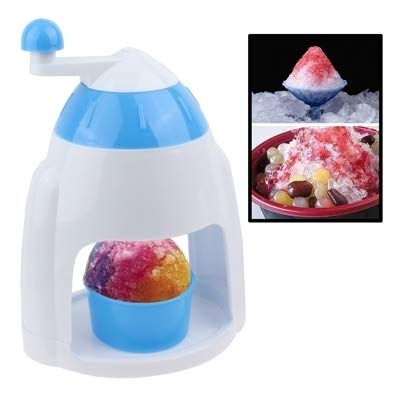 Lowest Price! JINKitchen Supplies, Ice Candy Crusher Shaver Snow Cone Maker Manual Machine